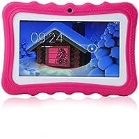 """LayOPO Enfants Tablette, 7"""" Kid Friendly Tablette 8 Go WiFi Kid Edition Tablette avec caméra"""