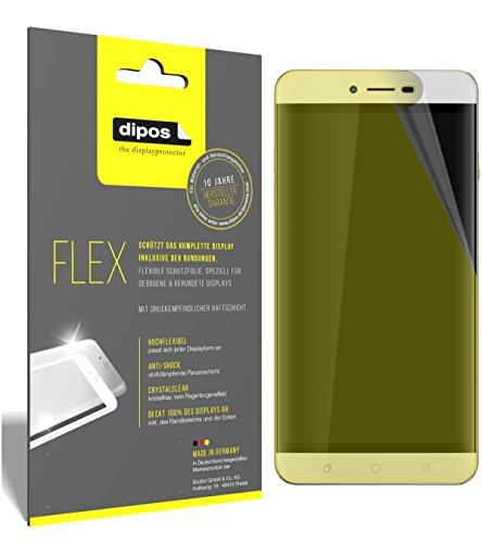 dipos I 3X Schutzfolie 100% passend für Coolpad Torino R108 Folie (Vollständige Bildschirmabdeckung) Bildschirmschutzfolie