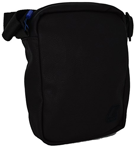 Borsa Borsello Tracolla Uomo K-Way Bag Men K-Pocket Plus Small Ammo K1C10-Nero