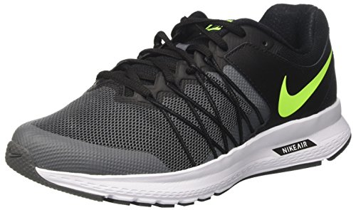 Nike Air Relentless 6, Scarpe Running Uomo Nero (Black/Volt/Dk Grey/White)