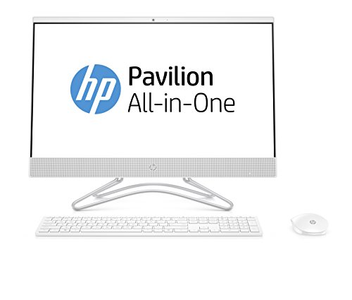 HP All-in-One 24-f0016ns Desktop-PC (Intel Core i5-8250U, 8GB DDR4, 256GB SSD, Intel UHD Graphics 620, kein Betriebssystem) schneeweiß