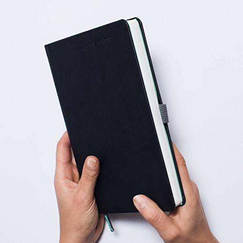 (KLARHEIT KALENDER | Planer für mehr Fokus | A5 Organizer Terminplaner Notizbuch + Life Coach | undatiert, dunkel)