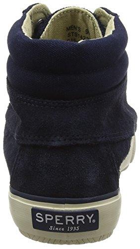 Sperry Mens Bahama Lug Chukka Boots Blue (navy)