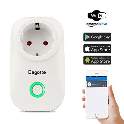 Intelligente-Steckdosen-ElektroinstallationSmarte-Steckdose-fr-Alexa-funktioniertWLAN-Smart-Plug-mit-App-Steuerung
