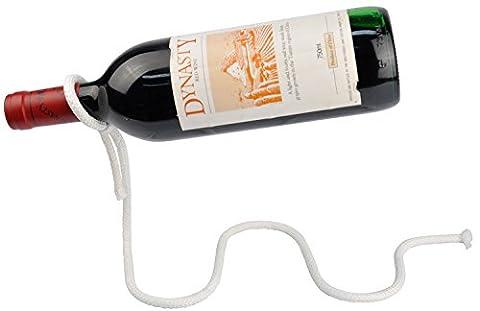 Vivo © Magic Illusion Floating Wine Bottle Holder Rope Lasso Chain Wine Rack Novelty [Magic Rope]