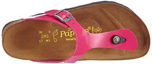Papillo Gizeh, Tongs femme Rose (Patent Pink)