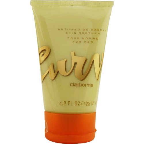 Mens Skin Soother (Curve by Liz Claiborne Skin Soother for Men, 4.2 Ounce by Liz Claiborne)