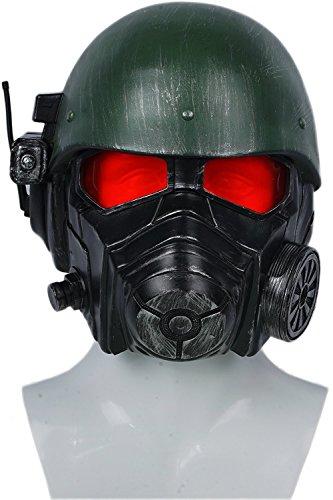 Halloween Helm Spiel Cosplay Kostüm Erwachsene Herren Riot Armor Kopf Helm Fancy Dress Merchandise Prop