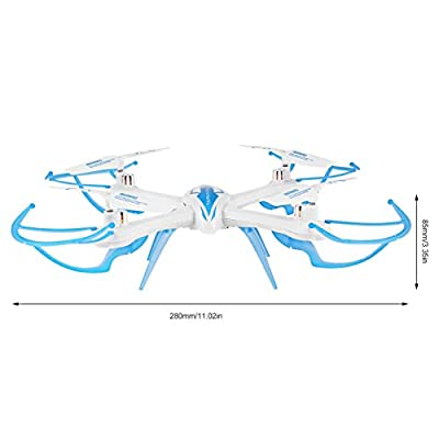 Jullyelegant 2.4G 4 Channel Headless Mode One Key Automatic Return One Key Rolling Mini RC Quadcopter Drone Toy Durable Ready-to-Go