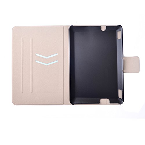 BtDuck Leather Case for Amazon Kindle fire HDX 7 inch Tablet Shell Leather Wallet Case Flip Folio Cover Anti-slip Skin Outdoor Protection Shockproof Anti-scratch Slim-fit Case