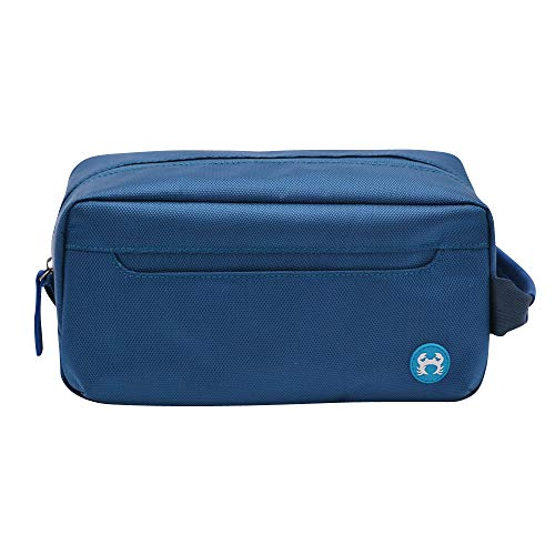 BagSy Crab Your Bag - Borsa da toilette di alta qualità | Accesori da viaggio | Beauty Travel Case | Borsa da viaggio ultraleggera, impermeabile e spaziosa per uomini e donne | (blu)