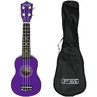 3rd Avenue STX40PU Ukulele with Bag, Purple