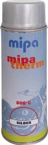 Mipa - Mipatherm SPRAY silber bis 800°C hitzebeständig - Farbe Grill