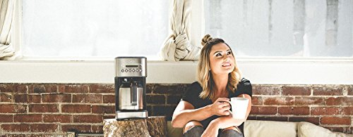 41OSBDHI0fL - CRUX Instant Ground Electric Hot Coffee Maker Machine Kit - Pre-Programmable Settings - 10 Cups, Self Cleaning - Auto…