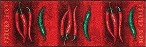 Sehr hochwertiger Küchenläufer Hot Chilli Größe ca 60 x