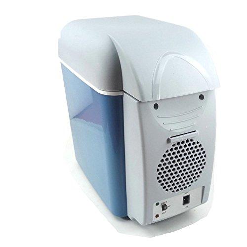 GTU DOEWR Auto Kühlschrank, Im Auto Kühlung * 12v Mini Kühlschrank Tragbaren Kühlschrank Kleine Kühlbox 7.5l-12V 31x31x17cm(12x12x7inch)