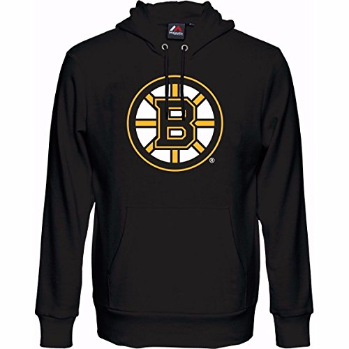 Majestic NHL Kinder Youth Hoody Boston Bruins Kaputzenpullover Hooded Sweater (8-10) S (128/134)