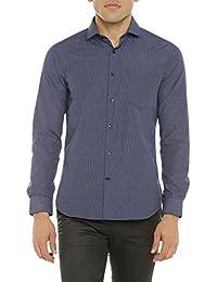 Richard Parker by pantaloons Men's Checkered Slim Fit Casual Shirt