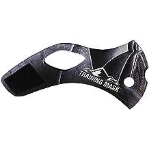 Trainingsmaske 2.0, austauschbares Maskenband, dunkel, nur Hülle