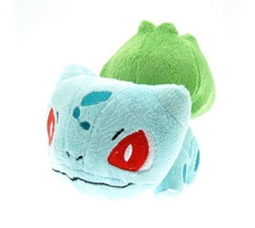 LIVESOFWINSORS Pokemon Bulbasaur 6'' Soft Plush Stuffed Doll Toy