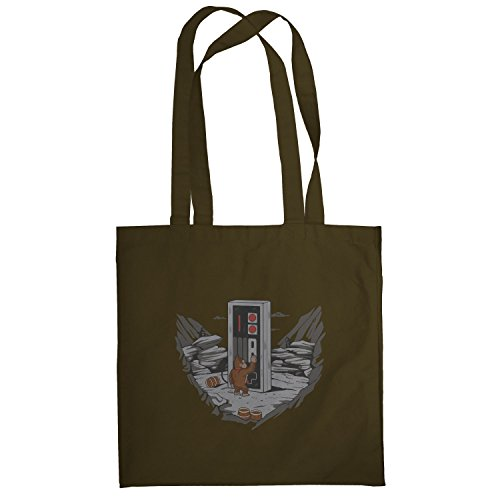 Texlab–Donkey Odyssey–sacchetto di stoffa Marrone