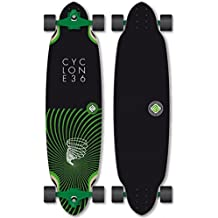 Flying Wheels Longboard Complete Cruiser Cyclone II Board 36.0 x 9.5 inch Carver - Special Edition with Koston ball bearings