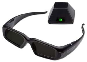 PNY 3D Vision Pro Glasses + hub Noir lunette 3D - lunettes 3D (IR, Noir, - Windows XP, Vista, 7 - Linux, Intel Core 2 Duo / AMD Athlon X2, 1024 Mo, 0,1 Go)