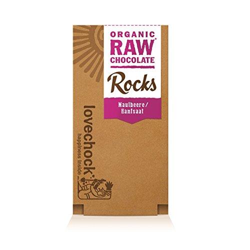 *lovechock Bio Lovechock Rocks Maulbeere-Hanfsaat, 80 g*