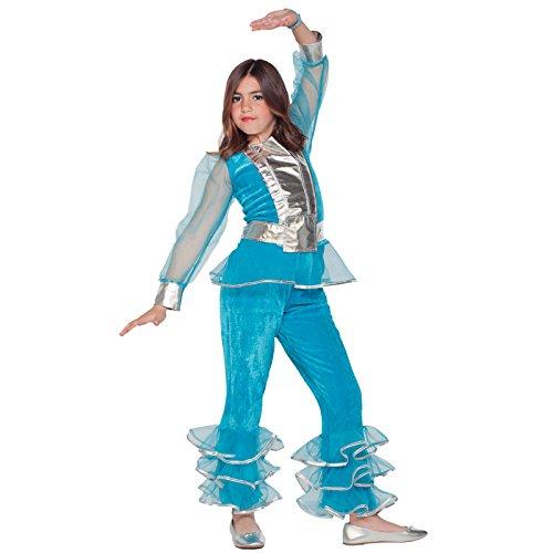 (Unbekannt Aptafêtes–cs801017/L–Kostüm Disco Mädchen–Größe 10/12Jahre)