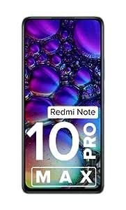 Redmi Note 10 Pro Max (Dark Nebula, 6GB RAM, 128GB Storage) -108MP Quad Camera | 120Hz Super Amoled Display
