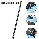 1PC Nail Art manicura punteando la pluma para 3D herramienta de decoración de uñas pluma de cera