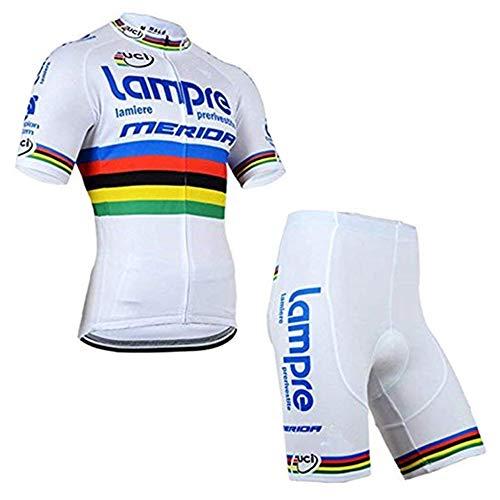aa6afa2d1129 logas Completo Ciclismo Uomo Estivo Maglia Ciclismo Maniche Corte Squadra  Professionale Tuta Ciclismo Uomo MTB