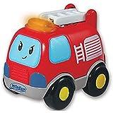 Camioncito bomberos infantil conducción divertida luz y sonidos 1153