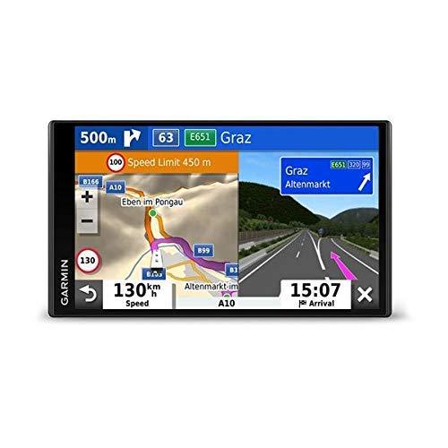 Garmin Camper 780 MT-D EU Navi - Rahmenloses Display, 3D-Navigationskarten für Europa, Pois, Sprachsteuerung
