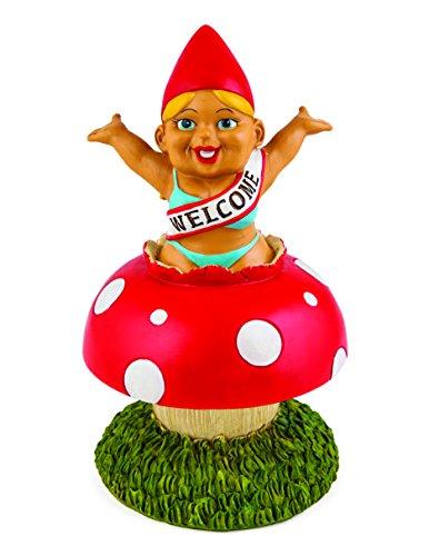 Bigmouth Inc Überraschen! Willkommen zuhause! Garten Gnom – Ornament
