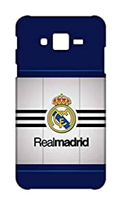 Pinklips Shopping Samsung Galaxy J2 2015 Hard Case Back Cover - Printed Designer Case - Real Madrid Design - Cristiano Ronaldo - CR7 SGJ2ZUPRMDRD2