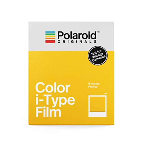 Pellicule Couleur instantanée Polaroid Originals pour Type I, Blanc (4668)