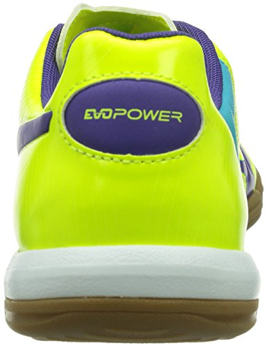 Puma Evopower 3 It, Chaussures de fitness homme Jaune (Fluro Yellow-Prism Violet-Scuba Blue 03)