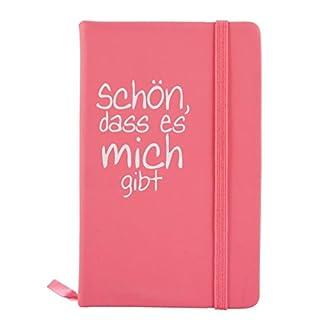 Notebook Holder with Text 'Sch?, dass es mich returns
