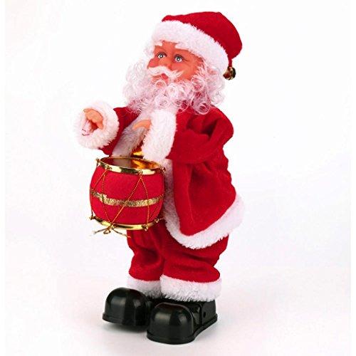 Weihnachten Geschenk/Weihnachten Spielzeug, Y56Für Weihnachten Dekoration, santa claus Baby Soft Plüsch Spielzeug singen gefüllt animierte Puppe Weihnachten Geschenk Typ B