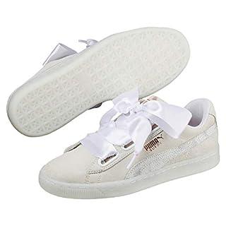 Puma Suede Heart Artica Wn's, Sneakers Basses Femme, Blanc White 01, 39 EU (B07D9YQ7TK) | Amazon Products