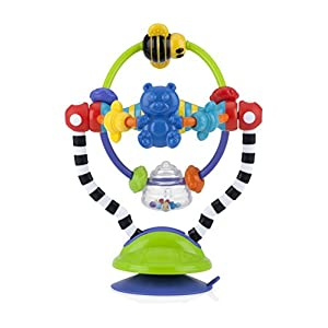 Nuby Silly Spinwheel Highchair Toy, Multi-Colour 6