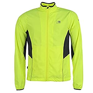 run jacket mens [ yellow , small ]