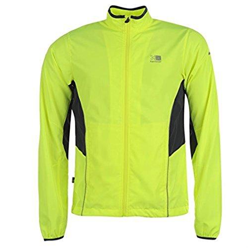 run jacket mens [ yellow , medium ]