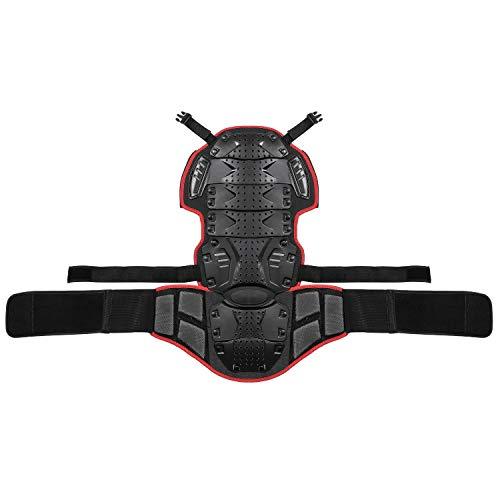 Veste Armure Moto Blouson Motard Gilet Protection Équipement de Moto Cross  Scooter VTT Enduro Homme ou Femme Rouge XXL ... 3cbddd7d261b