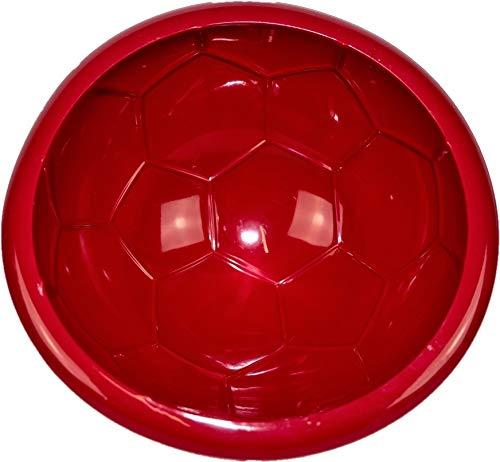 Siliwelt Silikon Backform Fußball Kuchenform 20,9 x 9 cm