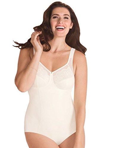 Anita 3514-612 Comfort Amica Donna Body Non Imbottito Senza Ferretto Controllo Rigido/Medio Bianco Ghiaccio 11D