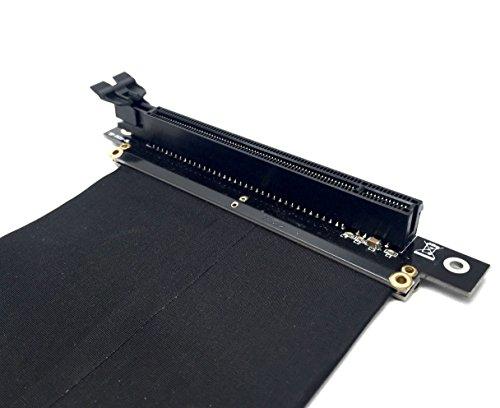EasyDiy New PCI Express 16x flexibles Kabel Karten Verlängerung Port Adapter High Speed Riser Card-20cm