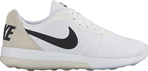 Nike 844857, Baskets Basses Homme White/Black-Light Bone