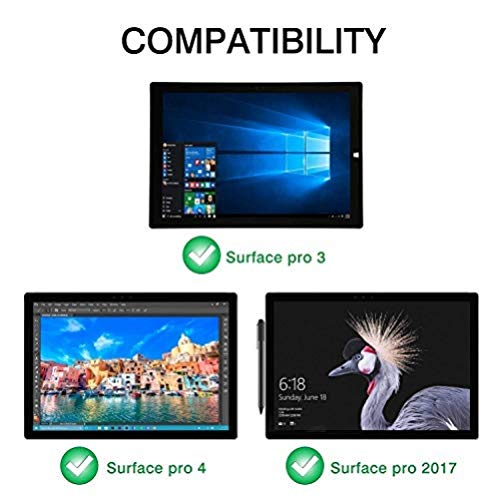 MoKo Surface Pro 7/6/4/3/Pro 2017 Teclado
